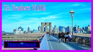 What Brooklyn Bridge Looks Like As NYC Slowly Reopens.. | #TATradersVLOG