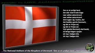 "Denmark National Anthem ""Der er et yndigt land"" INSTRUMENTAL with lyrics"
