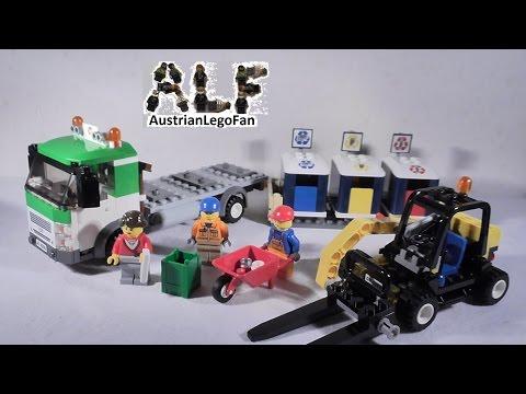 Vidéo LEGO City 4206 : Le camion de recyclage