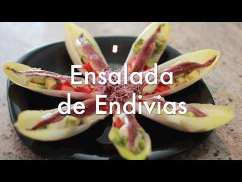 Ensalada de Endivias - Recetas Navideñas