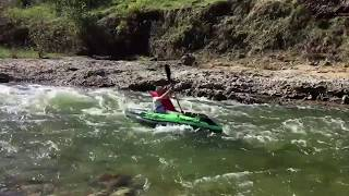 Kayaking 16 miles of the Pedernales River
