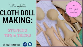 OLD!! Cloth Doll Making: Dolls Body Stuffing. Stuffing Tips And Tricks