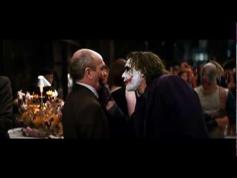 Il Cavaliere Oscuro – Discorso del Joker a Rachel