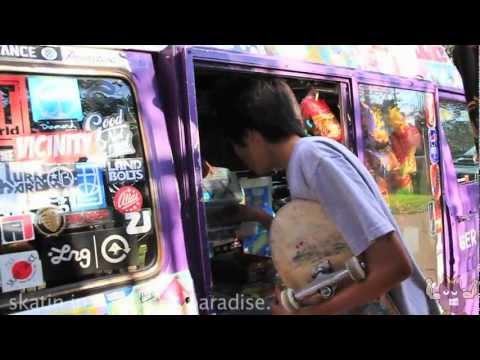 SKATERS PARADISE - skateboard music video