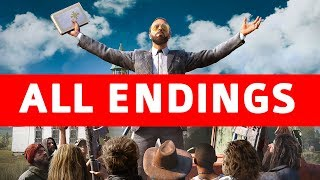 Far Cry 5 All Endings (Good Ending / Bad Ending / Secret Alternate Ending / Boss Endings)