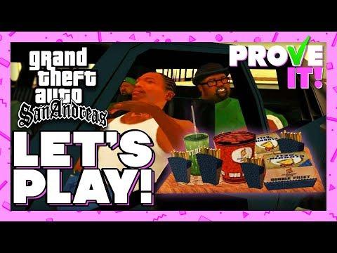 Studying Big Smoke's GTA San Andreas Order - PROVE IT! LET'S PLAY