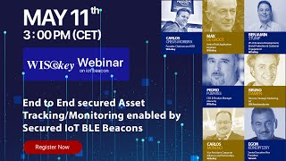 Webinar on how WISeKey Cybersecurity and IoT Technologies are used in the COVID 19 Pandemic Crisis