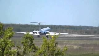 Ил-62 взлетает из Толмачёво