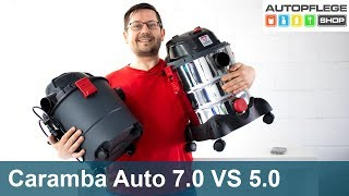 Caramba Auto Staubsauger 7.0 VS 5.0
