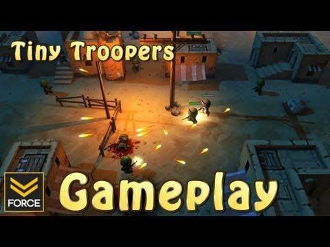 Gameplay de Tiny Troopers