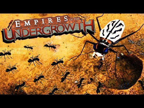 GIANT Beetles vs ANT Colony! - Empires of the Undergrowth Gameplay