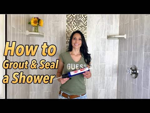 How To Grout And Seal A Shower Mp3