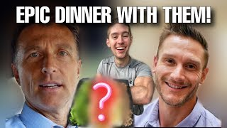 I ate with DR. BERG & THOMAS DELAUER for a DAY! * Keto DESSERT?!