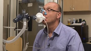 Taking a Spirometry Test
