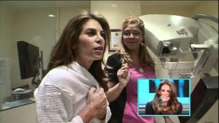 Jillian Michaels gets her first Mammogram at the Pink Lotus Breast Center