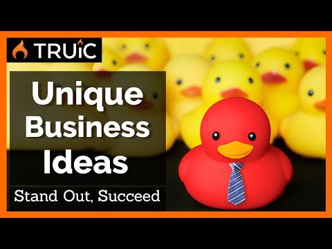 , title : '10 Unique and Original Business Ideas - Creative Businesses that Work