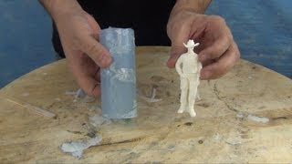 Mold Making & Casting Tutorial: 73-20 Figurine Mold - Video Youtube