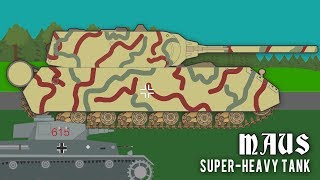 The Maus Super-Heavy Tank