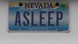 Living in Las Vegas: Funny Nevada Custom Vanity License Plates