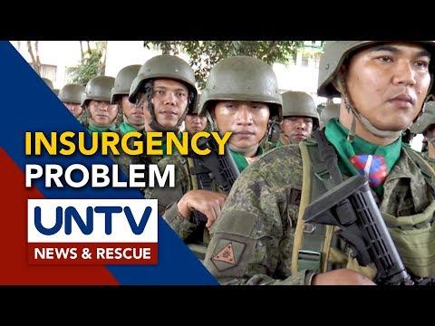 AFP Chief, tiwalang matatapos ang insurgency problem sa bansa sa termino ni Duterte