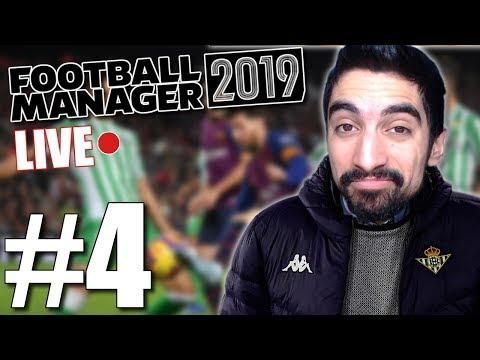 Μεσοβδόμαδα ματσάκια - Football Manager 2019 #4
