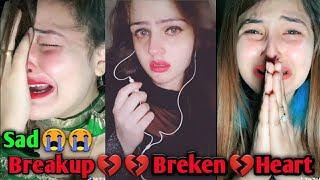 "Sad tiktok video/💔💔/Heart Touching ""Breakup"" 💔😭 Most Emotional Musically Videos//breakup part 53"