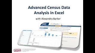 Advanced Census Data Analysis in Excel