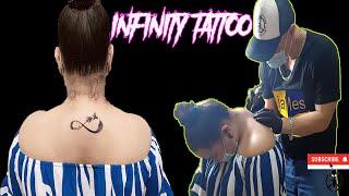 Infinity Tattoo, Girl Tattoo Time Lapse