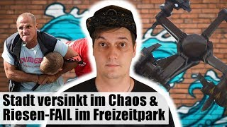 Ätzende Hellseher, UNFASSBARES Karussell & Stadt Versinkt Im Chaos | #LeNews