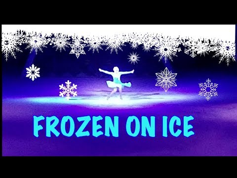 FROZEN ON ICE | FIRST SHOW WITH THE KIDS | ON THE WAY- FAMILY VLOGS