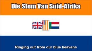 South African National Anthem 1957-1994 (Die Stem Van Suid-Afrika) - Nightcore Style With Lyrics