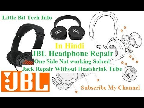 How to repair/fix JBL e55bt headphones - not working one