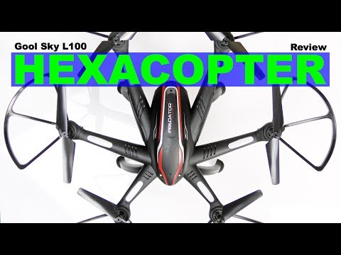 A Fast GPS Hexacopter with camera - The Goolsky L100