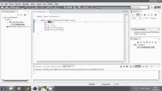 Programmieren Lernen für Anfänger - 01 - Erstes Programm - Java Tutorial