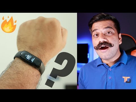 Xiaomi Mi Band 3 Unboxing & First Look - Best Budget Fitness Tracker🔥🔥🔥