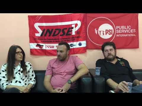 Assessora de Formação e dirigentes do Sindsep falam sobre juventude e direitos humanos