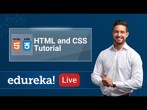 HTML CSS Tutorial - Live   Creating a website using HTML CSS ...