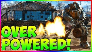 Fallout 4 - Over Powered Straight Out of the Vault!!! |No Mods| |No DLC| (In Depth Tutorial)