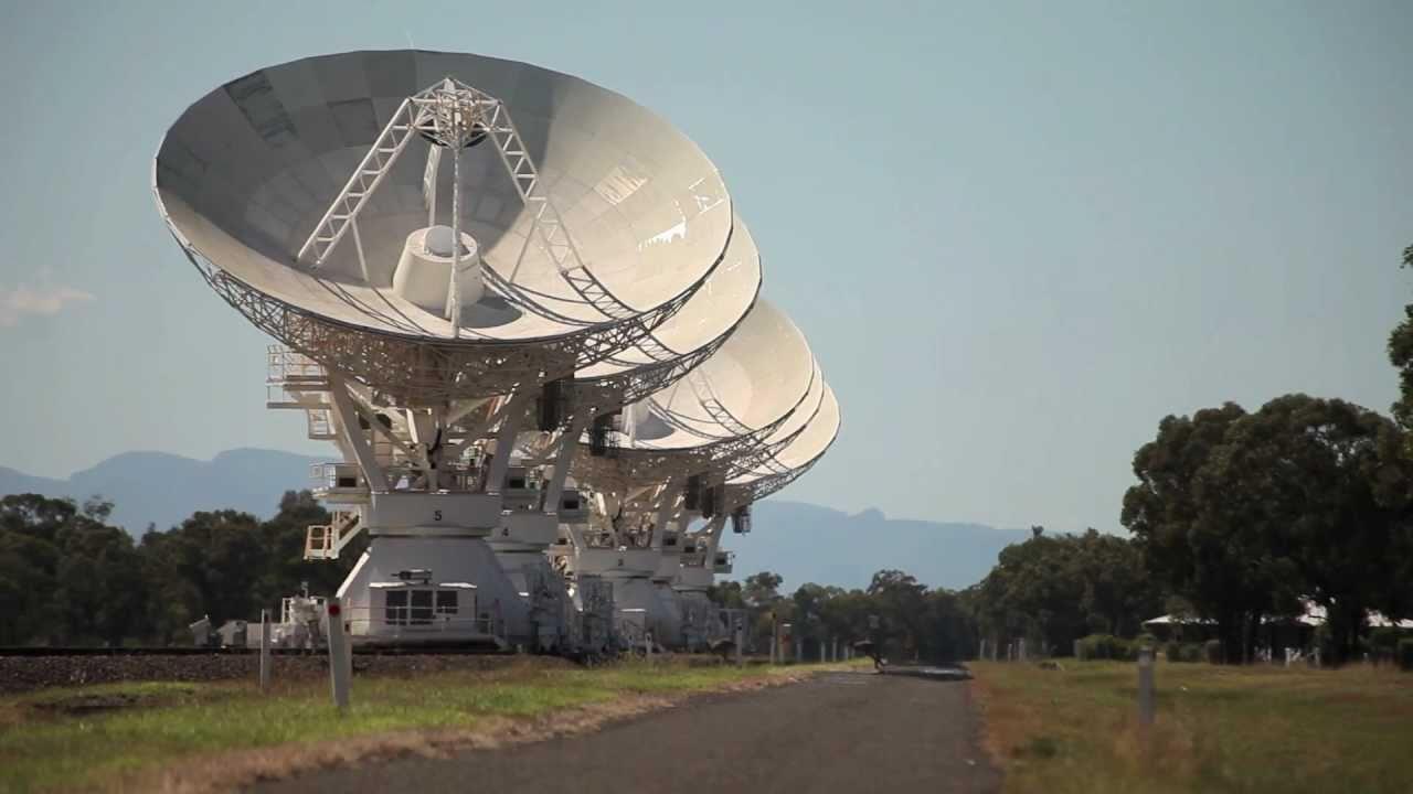 Watch CSIRO's Telescope Compact Array Dance Like Ballerinas