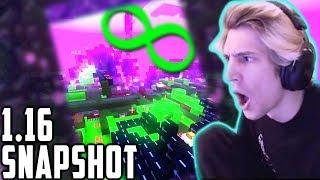 NEW Minecraft April Fools 1.16 Snapshot 20w14 Infinite Dimensions
