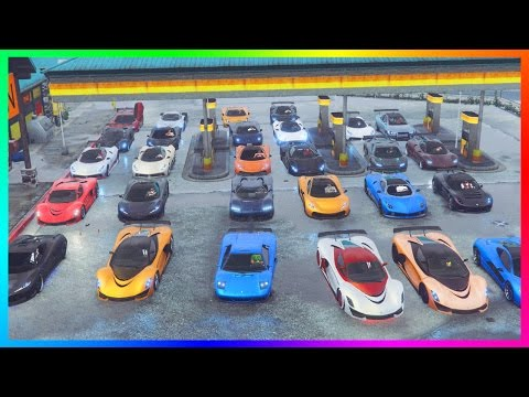 GTA ONLINE ULTIMATE SUPER CAR SPECIAL - BEST SUPER CAR GARAGES, FASTEST GTA 5 VEHICLES & HYPER CARS!