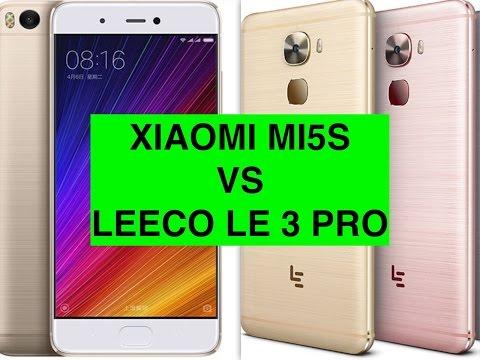 Xiaomi Mi5S vs LeEco Le Pro 3 ITA
