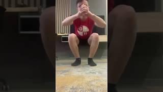 Тренируемся дома 18 (Галушка футбол)