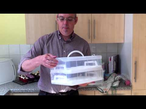 Two Tier Cupcake Carrier | Product Review