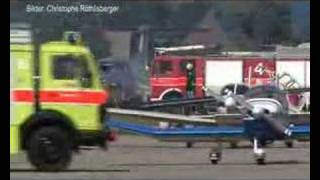 Helicopter Crash In Switzerland - Crash Hélico En Suisse