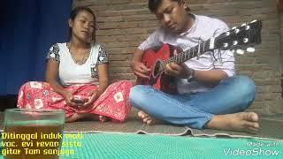 Klasik Gitar Tunggal DI TINGGAL INDUK MATI . Voc. Evi Revan Sista