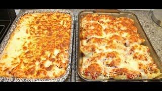 Sausage Stuffed Shells & Baked Spaghetti Recipes