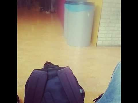 (Caught in act )  trash bin having sex