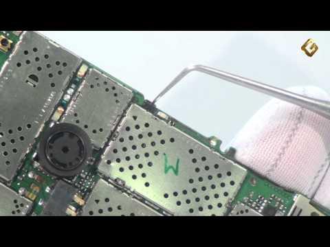 Ремонт Nokia 6300 - замена дисплея LCD в мобильном телефоне