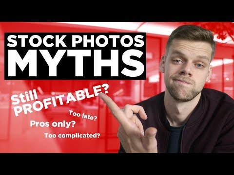 8 MYTHS of SELLING STOCK PHOTOGRAPHY